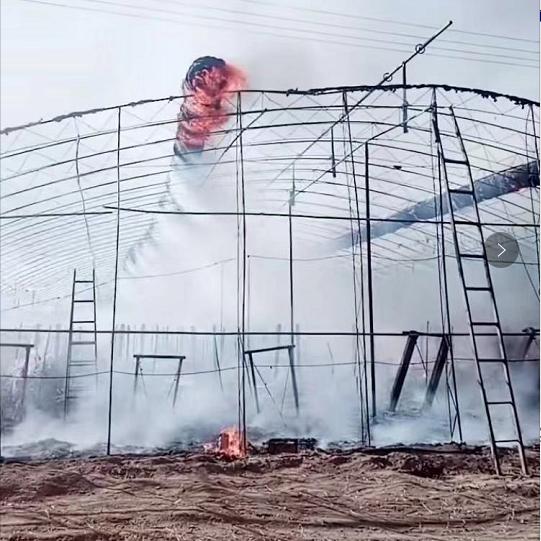 春天大棚保溫被的存放应注意防火